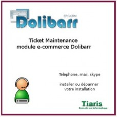 Maintenance Dolibar Ecommerce ticket 1h